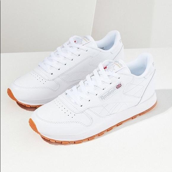 3aae0f9da837 ... Reebok Classic Gum Sole Sneakers ...